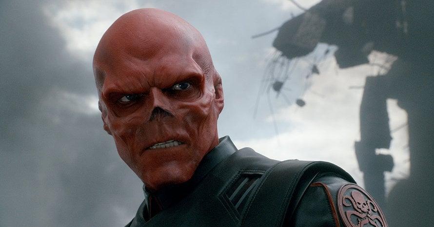 Red Skull Captain America Avengers Marvel Agents of SHIELD