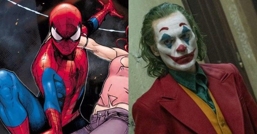 Spider-Man Joaquin Phoenix Joker