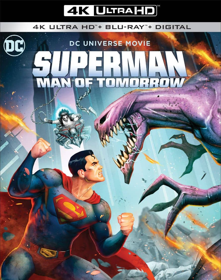 Superman Man Of Tomorrow Box Art