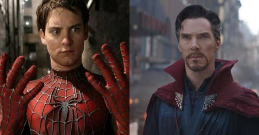 Tobey Maguire Spider-Man Sam Raimi Doctor Strange 2 Benedict Cumberbatch