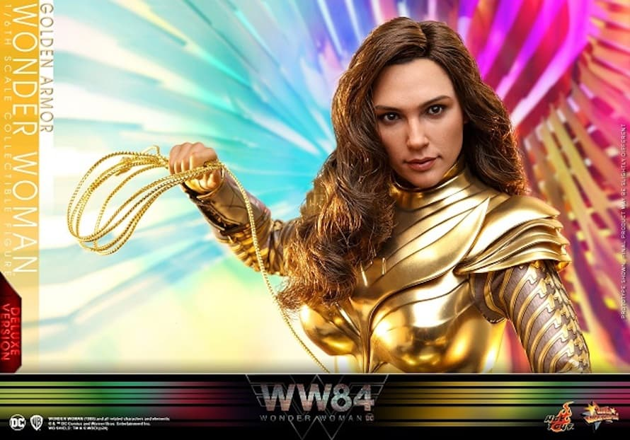 Wonder Woman 1984 Golden Eagle 1 Action Figure