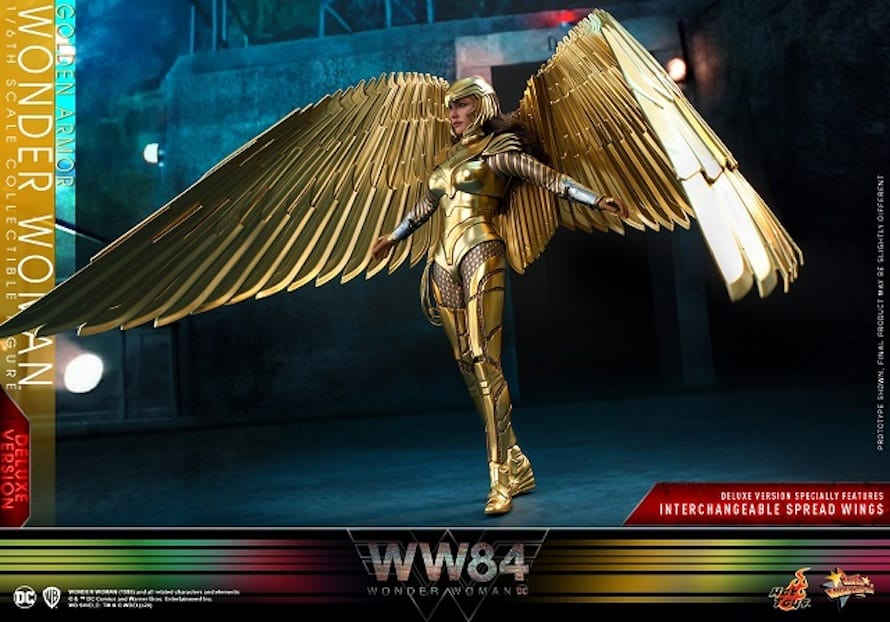 Wonder Woman 1984 Golden Eagle 4 Toy