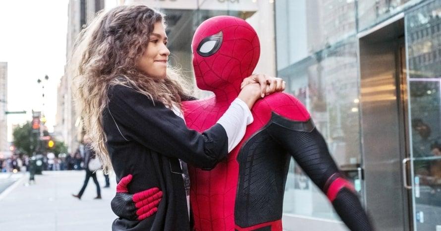 Zendaya Tom Holland Spider-Man 3 Mary Jane Watson Disney Sony Marvel