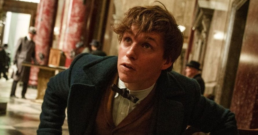 Eddie Redmayne Fantastic Beasts JK Rowling J.K. Rowling