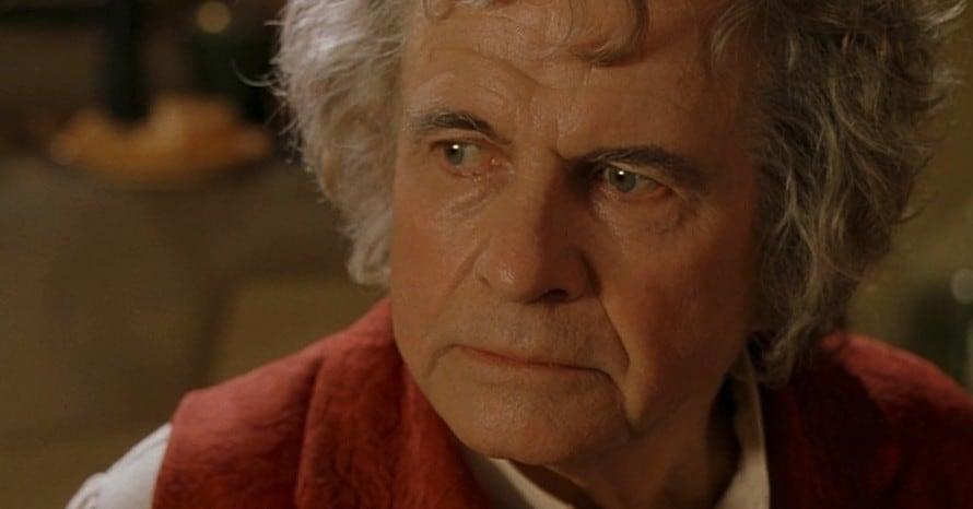 Ian Holm Lord of the Rings Alien Bilbo Baggins Peter Jackson
