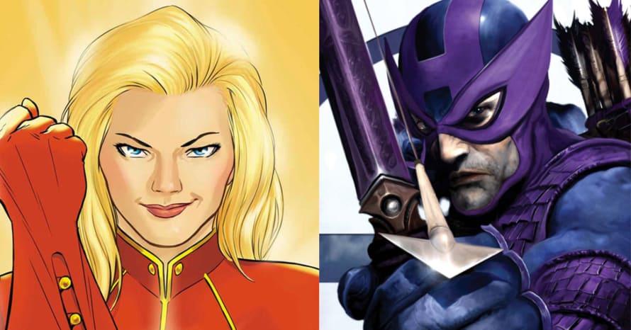 Marvel Avengers Captain Marvel Hawkeye