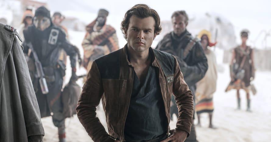 Alden Ehrenreich Han Solo Star Wars