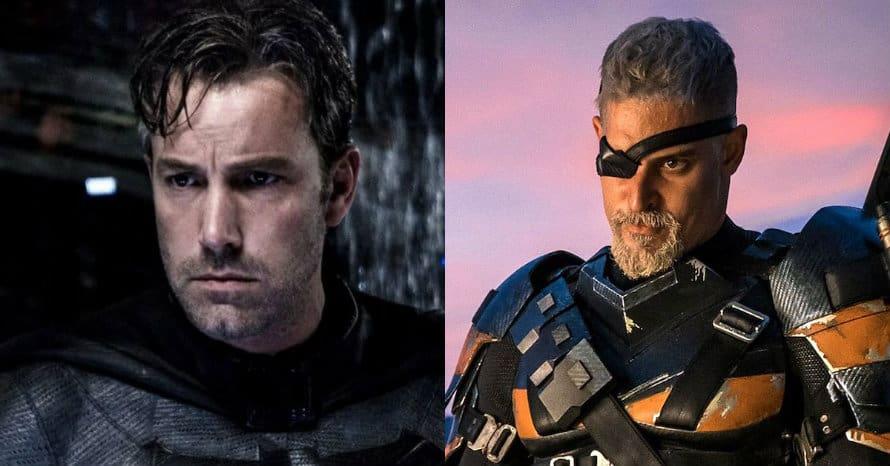 Ben Affleck Batman Joe Manganiello Deathstroke Zack Snyder Justice League