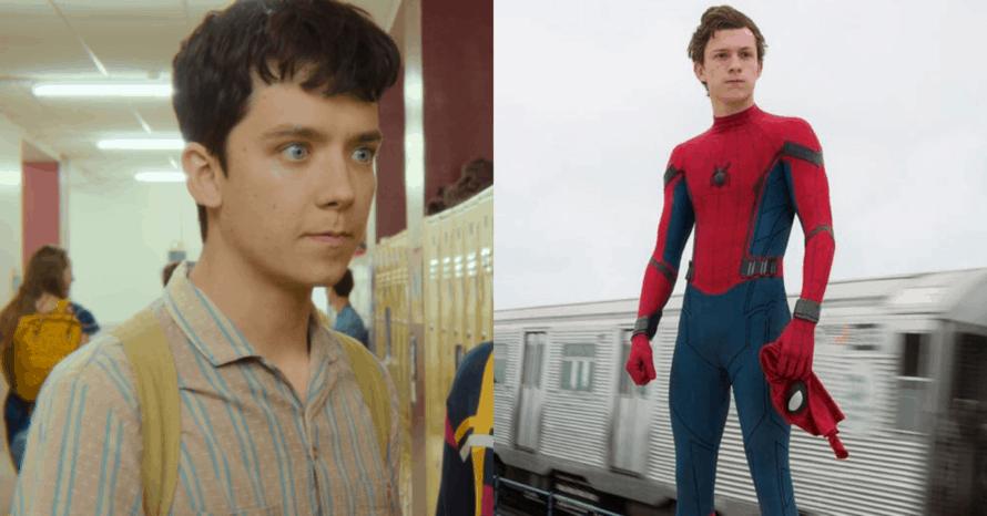 Asa Butterfield Tom Holland Spider-Man