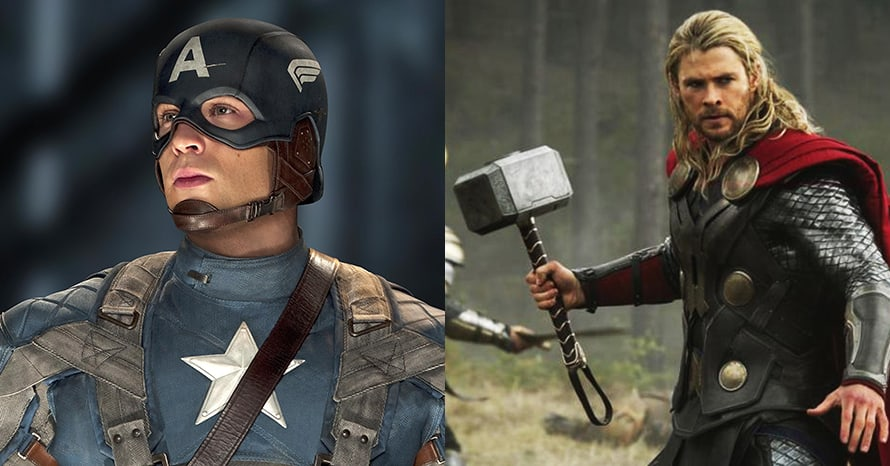 Captain America Thor Wonder Woman