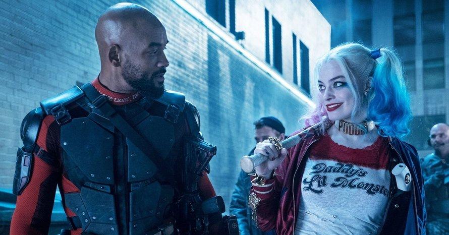 David Ayer Cut Suicide Squad Harley Quinn Deadshot Will Smith Margot Robbie Deadshot Harley Quinn