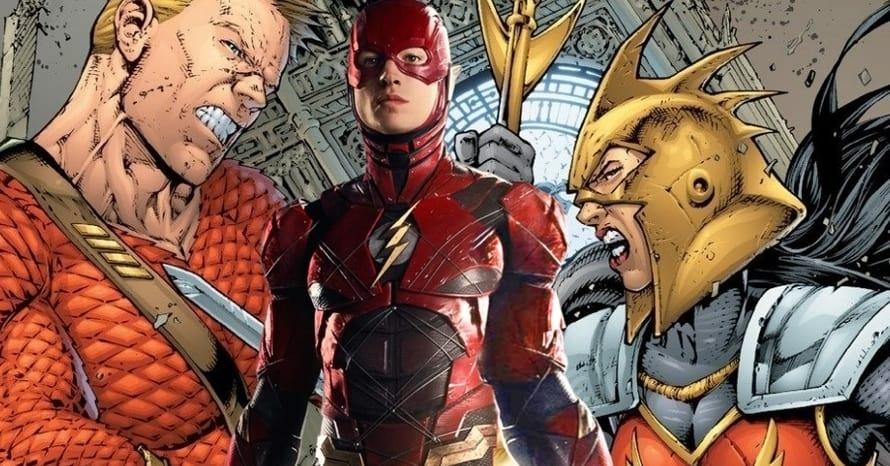 Ezra Miller The Flash Flashpoint Aquaman Wonder Woman