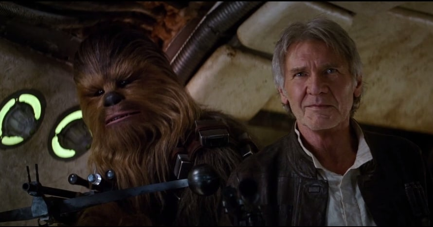 Harrison Ford Star Wars The Force Awakens Han Solo