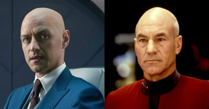 James McAvoy Star Trek Picard Patrick Stewart