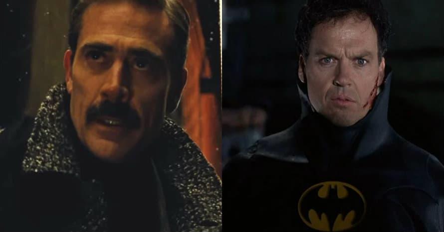 Jeffrey Dean Morgan Michael Keaton Batman The Flash