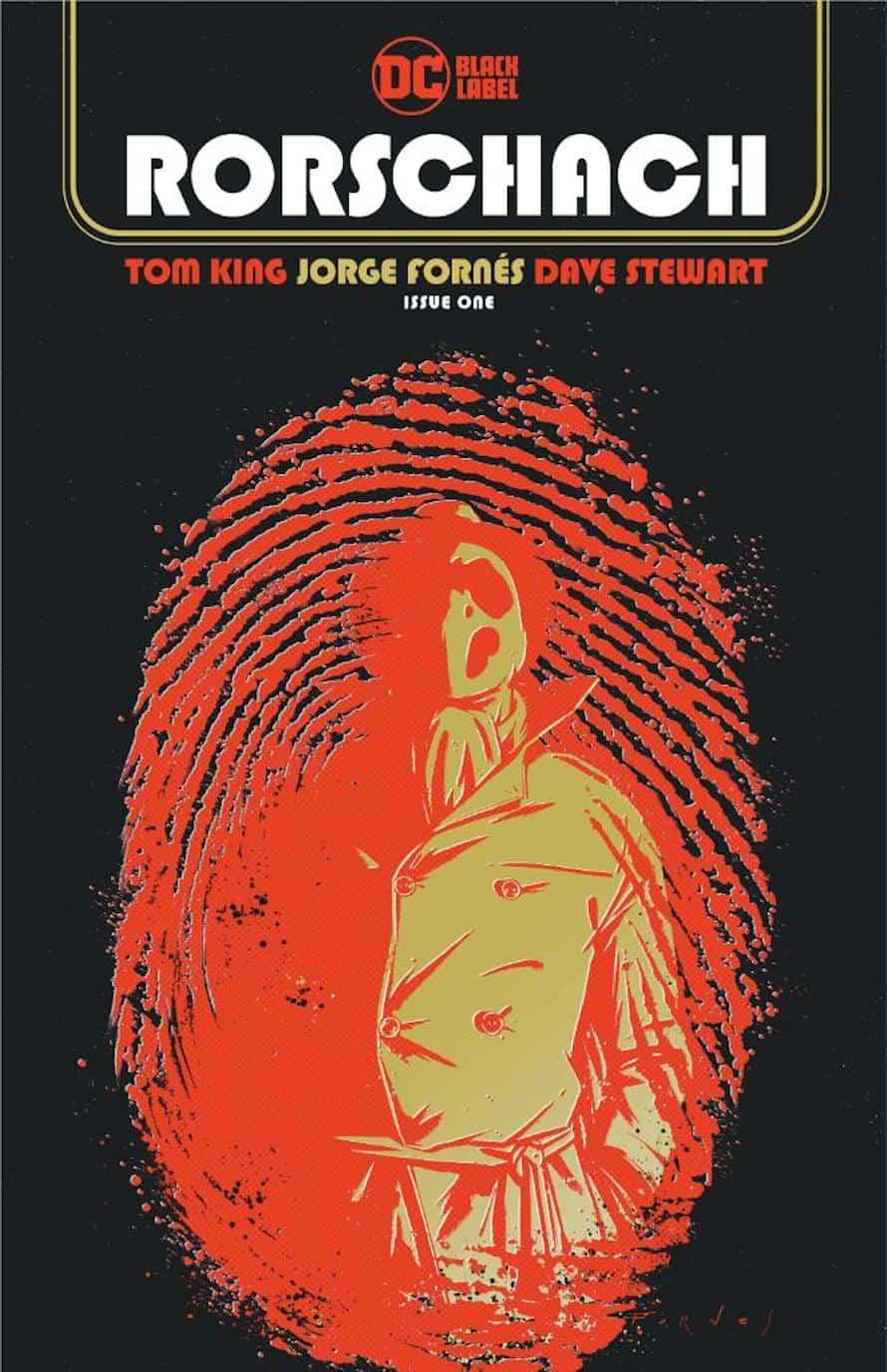 Rorschach Tom King Watchmen DC Comics Cover