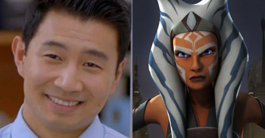 Simu Liu Shang-Chi Star Wars Gray Jedi