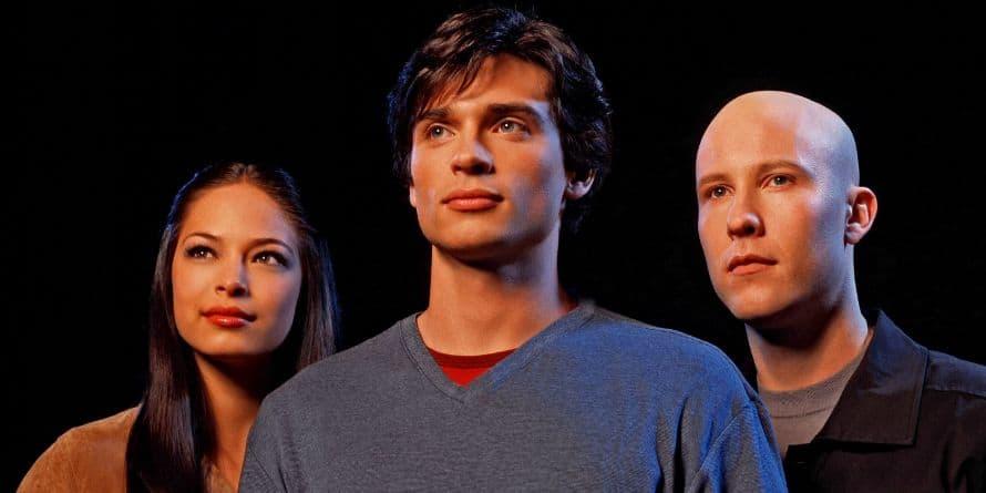 Smallville Kristin Kreuk Tom Welling Michael Rosenbaum