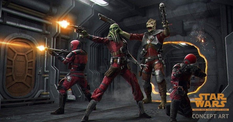 Star Wars Tales From the Galaxy's Edge Villains