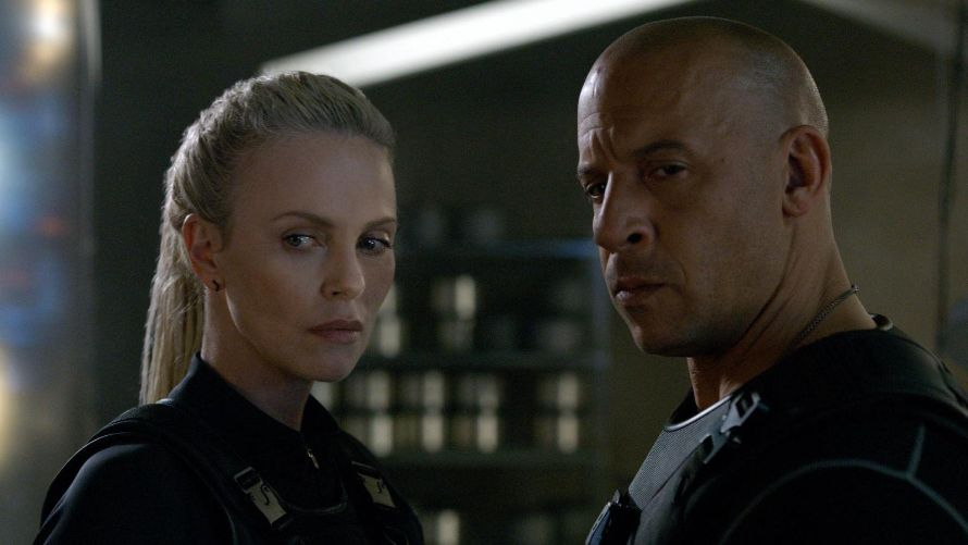 The Fate of the Furious Charlize Theron Vin Diesel