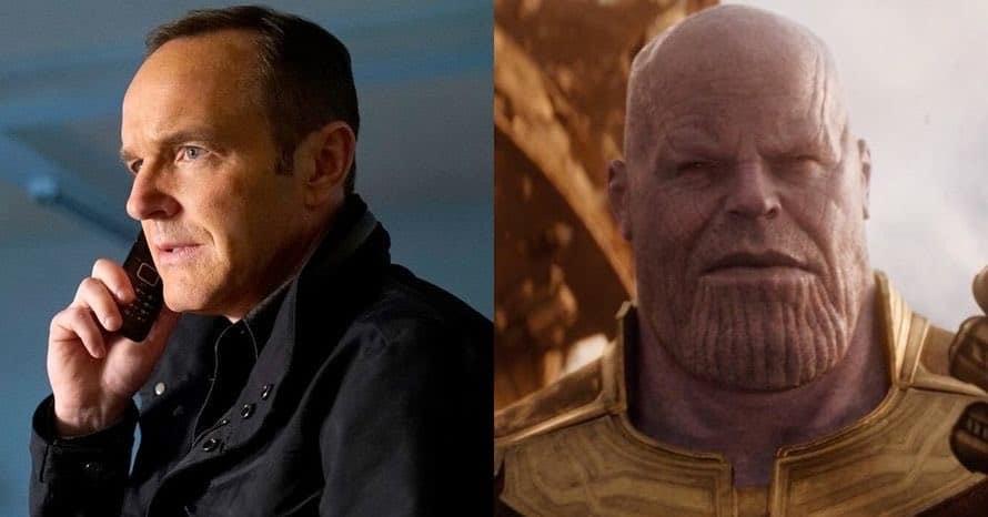 Agents of SHIELD Avengers Infinity War