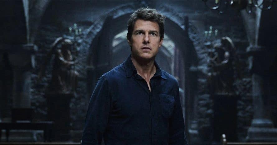 Annabell Wallis Tom Cruise The Mummy