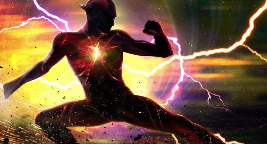 Ezra Miller The Flash New Suit Concept Art