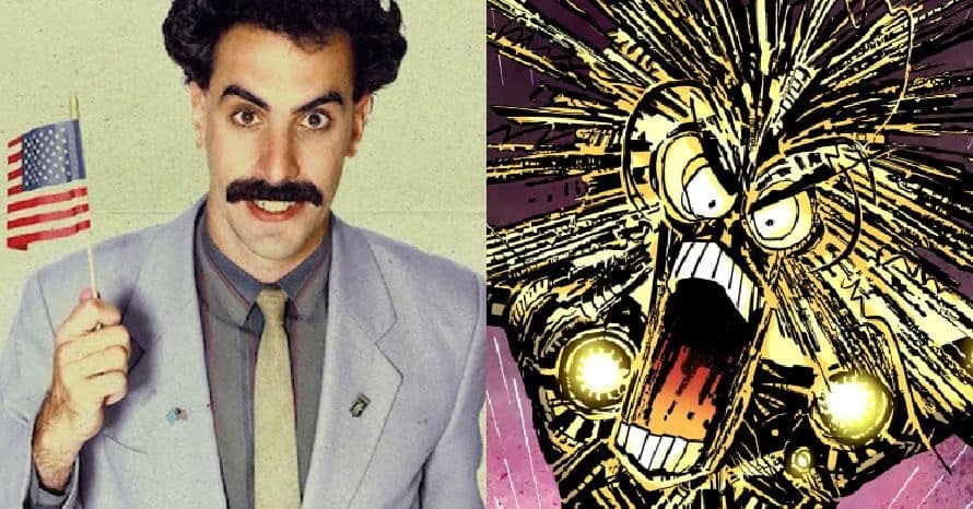 Sacha Baron Cohen Warlock The New Mutants