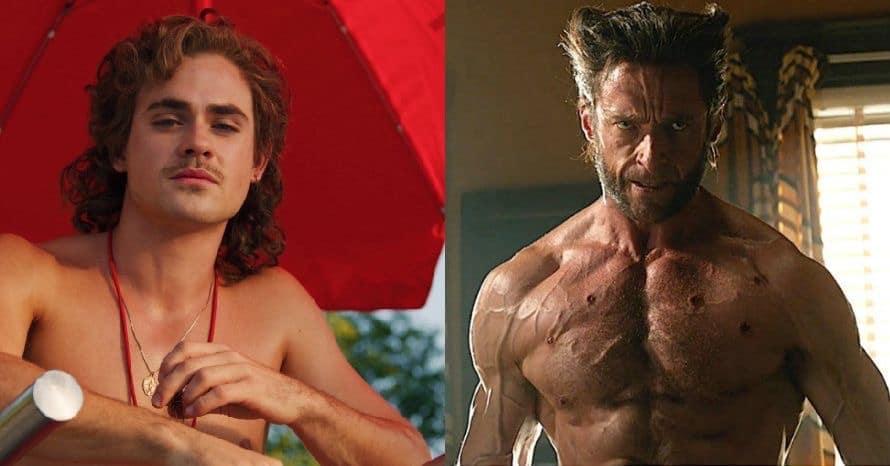 Dacre Montgomery Hugh Jackman Wolverine