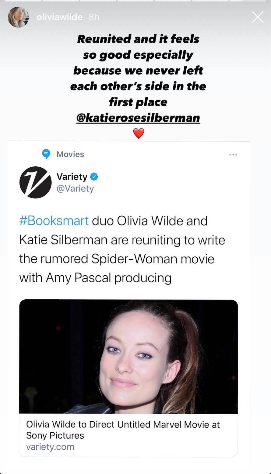 Olivia Wilde Spider-Woman SOny
