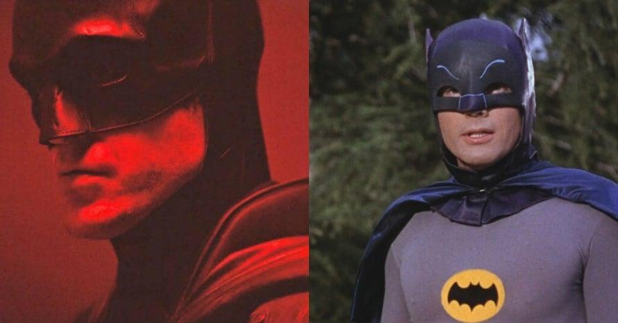 Robert Pattinson The Batman Adam West