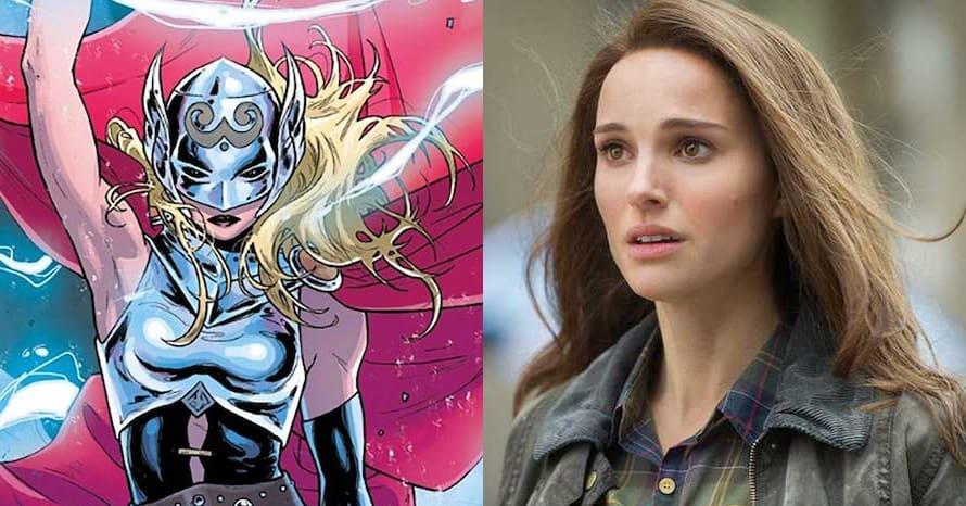 Natalie Portman's Jane Foster Returns In 'Thor: Love and Thunder' Set Photos