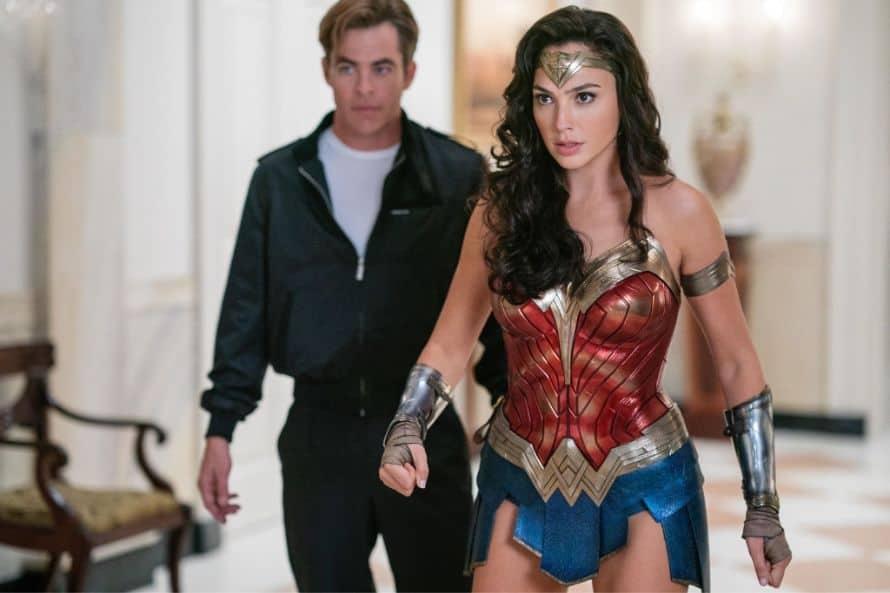 Wonder Woman 1984 Gal Gadot Diana Prince Chris Pine Steve Trevor