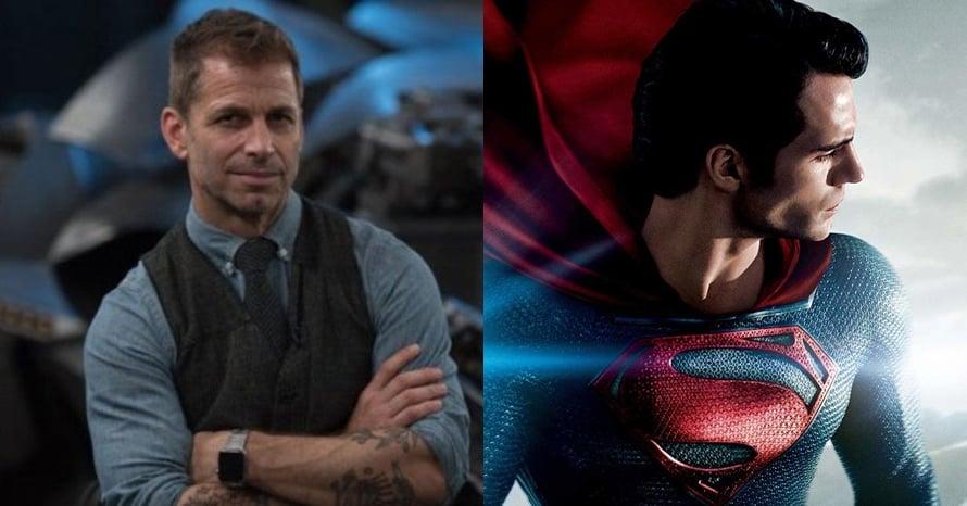 Zack Snyder Man of Steel HBO Max Superman Henry Cavill