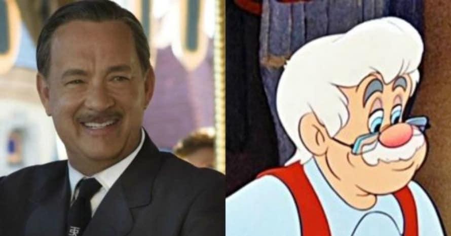 Disney Pinocchio Tom Hanks Gepetto