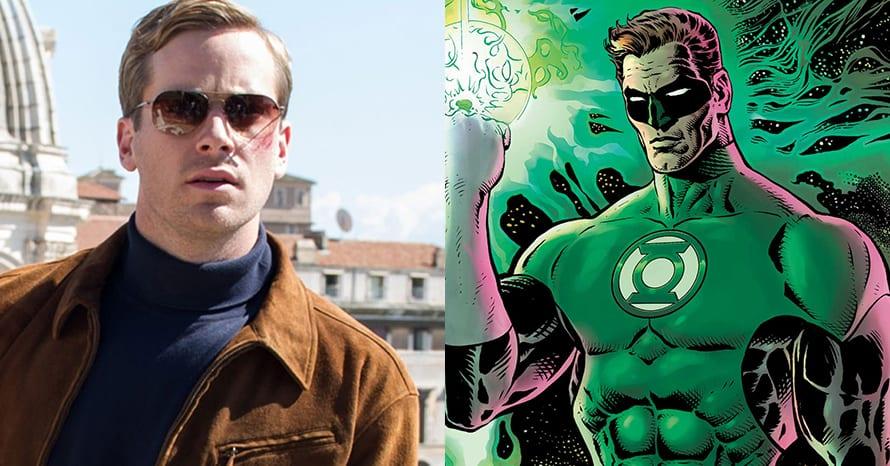 Armie Hammer Green Lantern Hal Jordan