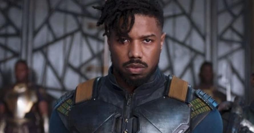 Black Panther Michael B. Jordan Chadwick Boseman Static Shock