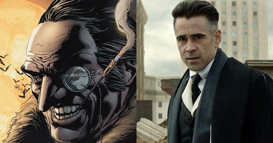 Colin Farrell The Batman Robert Pattinson Penguin Fantastic Beasts