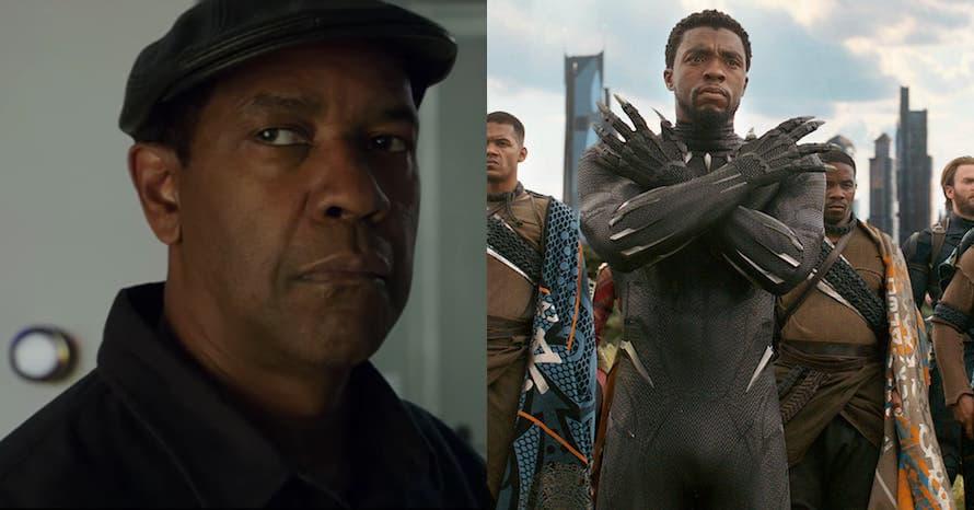 Denzel Washington Black Panther Chadwick Boseman