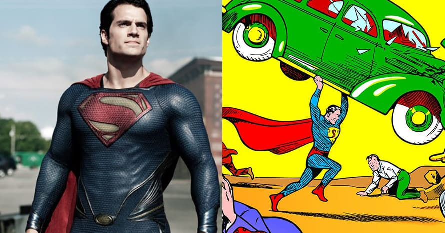 Henry Cavill Superman Action Comics