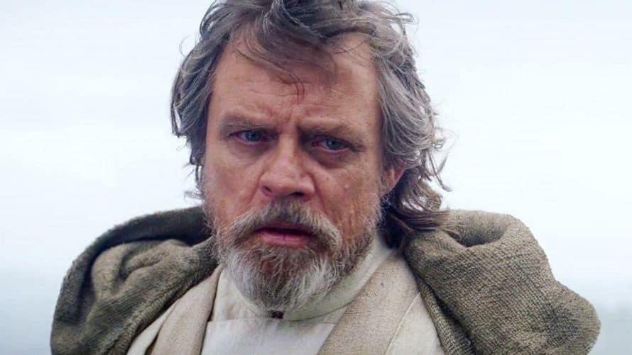 Mark Hamill Star Wars The Force Awakens Luke Skywalker Disney Lucasfilm