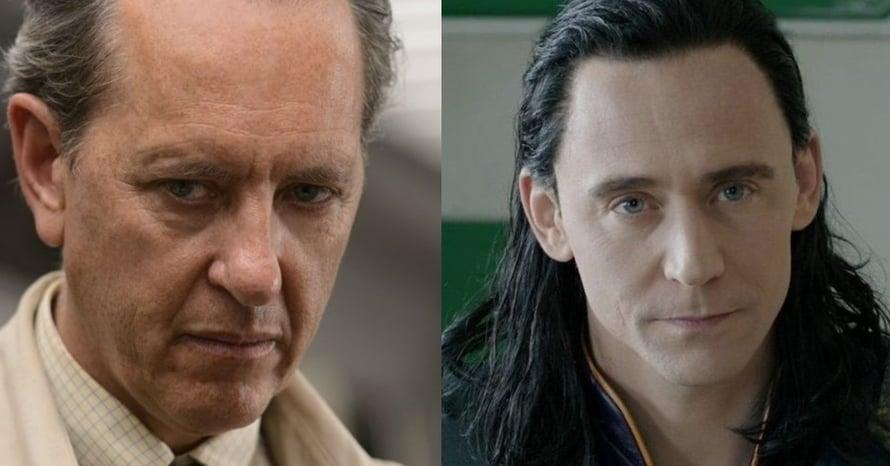 Richard E. Grant Logan Tom Hiddleston Loki Disney Plus