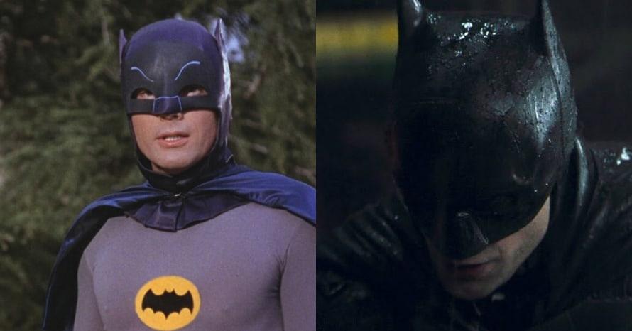 Robert Pattinson Adam West The Batman Series