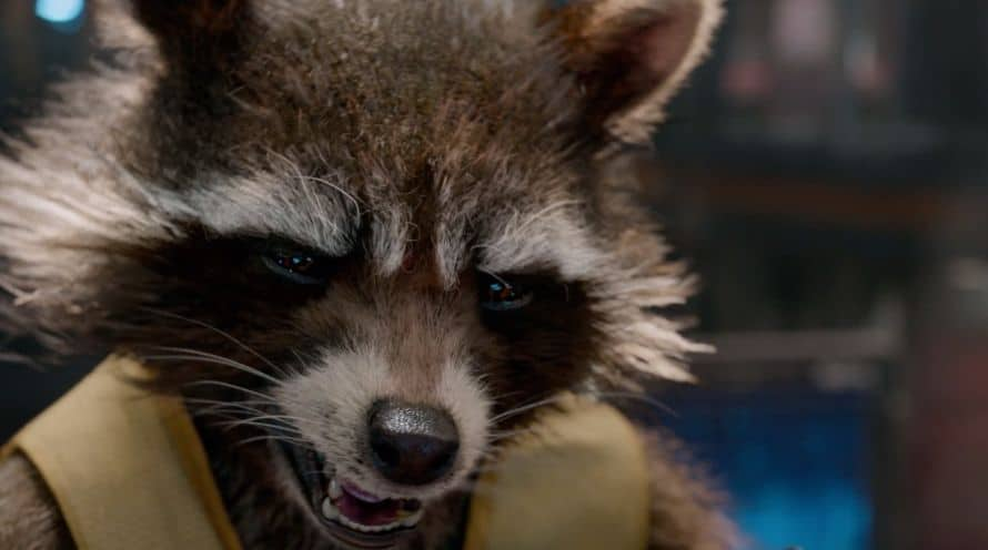Rocket Raccoon Guardians of the Galaxy Marvel Bradley Cooper Loki