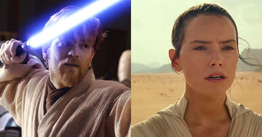 Star Wars Daisy Ridley Obi-Wan Kenobi