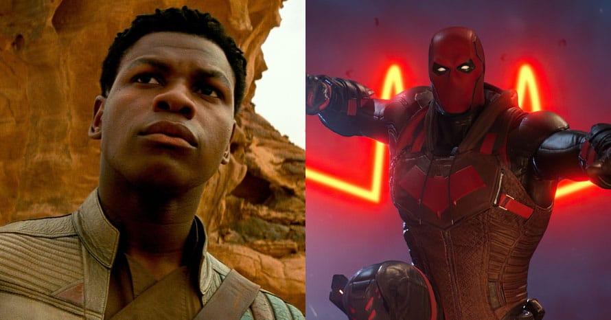 Star Wars John Boyega Red Hood DC