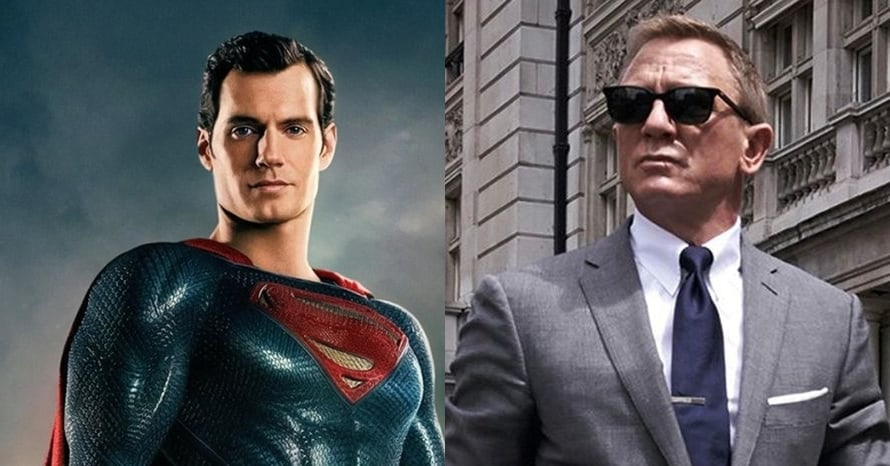Superman Henry Cavill Daniel Craig James Bond
