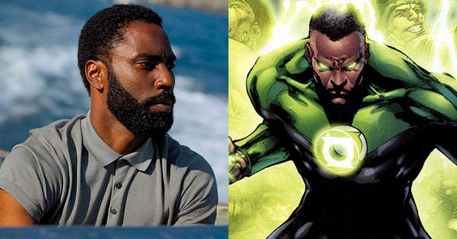 Tenet John David Washington Christopher Nolan Green Lantern