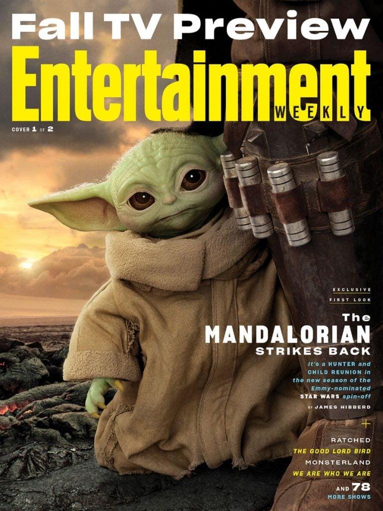 The Mandalorian Cover Baby Yoda
