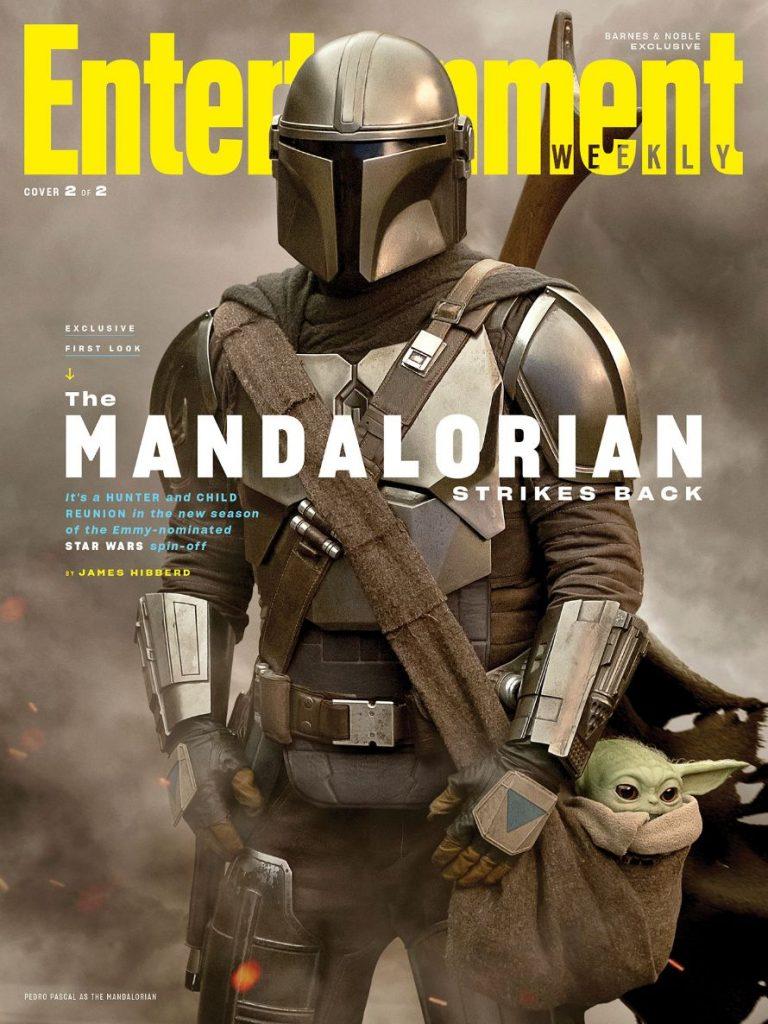 The Mandalorian Cover Din Djarin Pedro Pascal Baby Yoda
